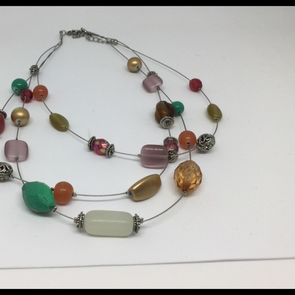 Layered necklace free with purchase